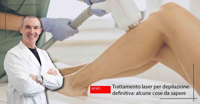 laser depilazione definitiva